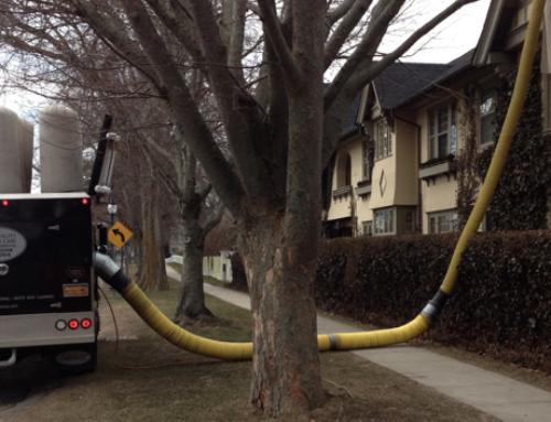 QAC Cleans Baker House 1650's Air Ducts